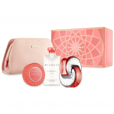 Bvlgari Omnia Coral Set Bodylotion 75 ml en Soap 75 ml en Pouch en 65 ml EDT