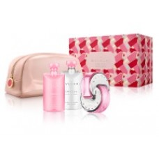 Bvlgari Omnia Pink Sapphire Set Showergel 75 ml en Bodylotion 75 ml en bag en 65 ml EDT