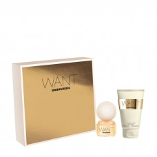 Dsquared2 Want Set Body Lotion 30 ml en 15 ml EDP